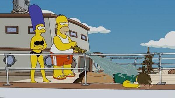 The Simpsons - Season 22 Episode 4: Treehouse of Horror XXI