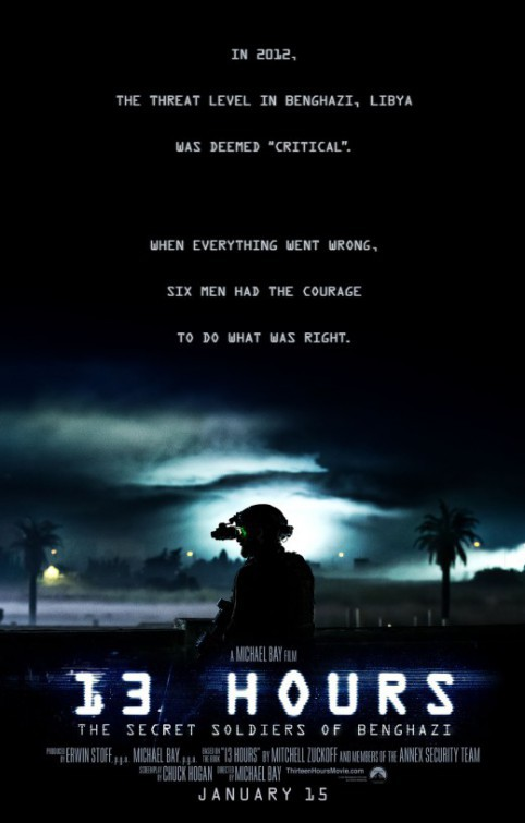 13 Hours: The Secret Soldiers of Benghazi