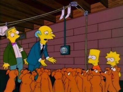 The Simpsons - Season 6 Episode 20: Two Dozen and One Greyhounds