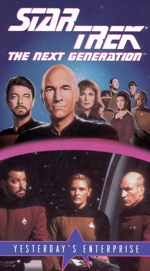 Star Trek: The Next Generation - Season 3 Episode 15: Yesterday's Enterprise