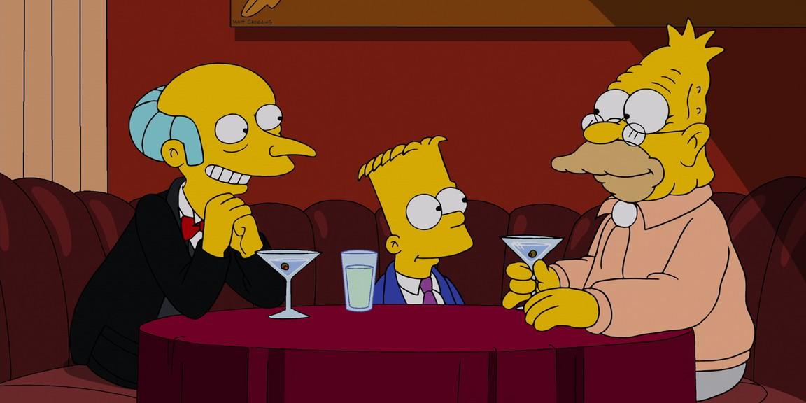 The Simpsons - Season 24 Episode 14: Gorgeous Grampa