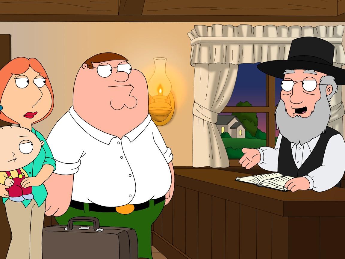Family Guy - Season 10 Episode 7: Amish Guy