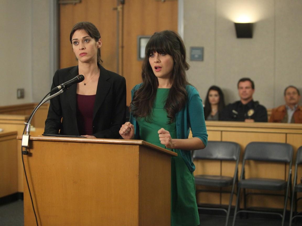 New Girl - Season 1 Episode 11: Jess and Julia