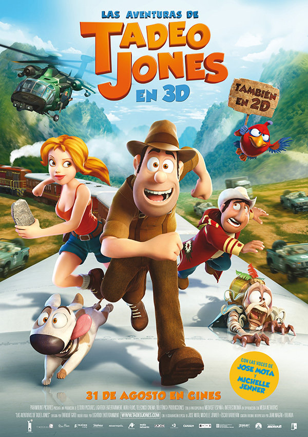 Las aventuras de Tadeo Jones (Tad, the Lost Explorer)
