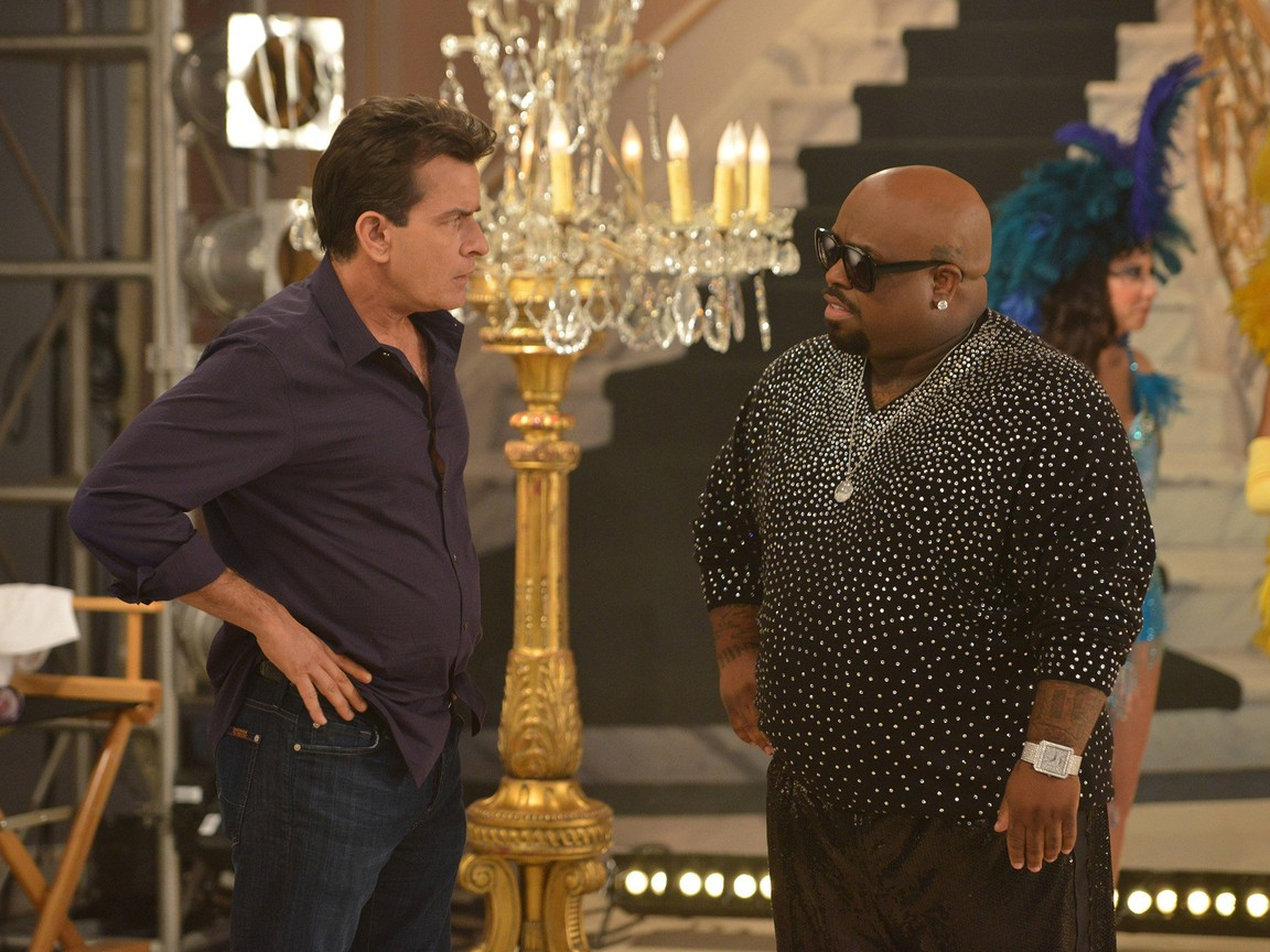 Anger Management - Season 2 Episode 08: Charlie And Cee Lo
