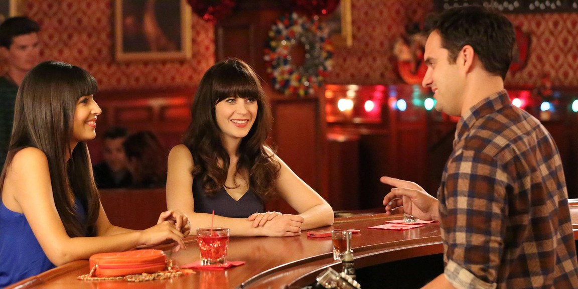 New Girl - Season 3 Episode 11: Clavado En Un Bar