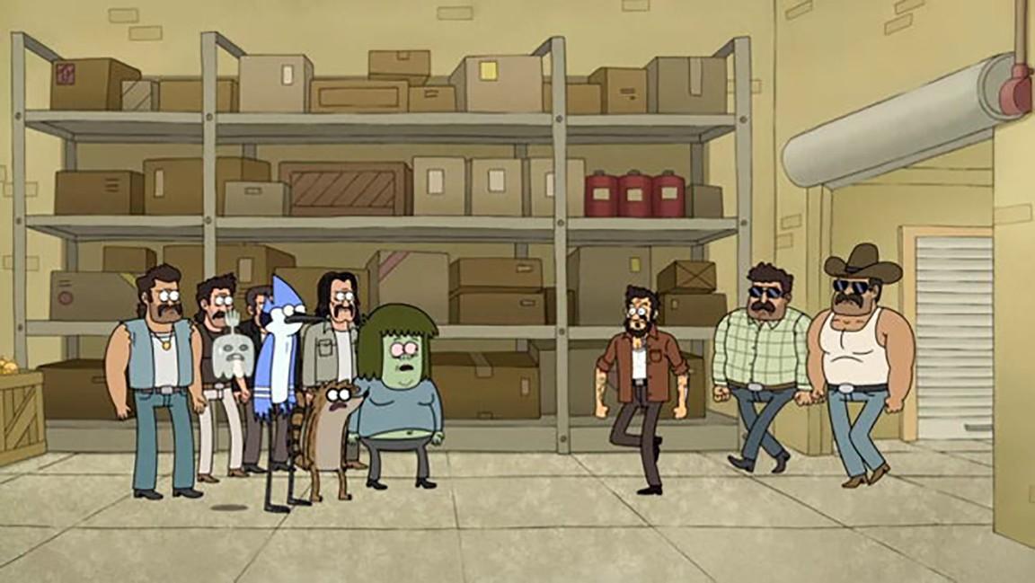 Regular Show - Season 4 Episode 11: Firework Run