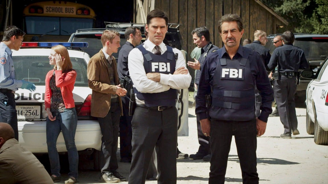 Criminal Minds - Season 8 Episode 08: The Wheels on the Bus…