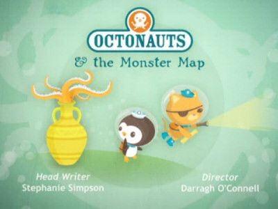 The Octonauts - Season 1 Episode 12: Octonauts and the Monster Map