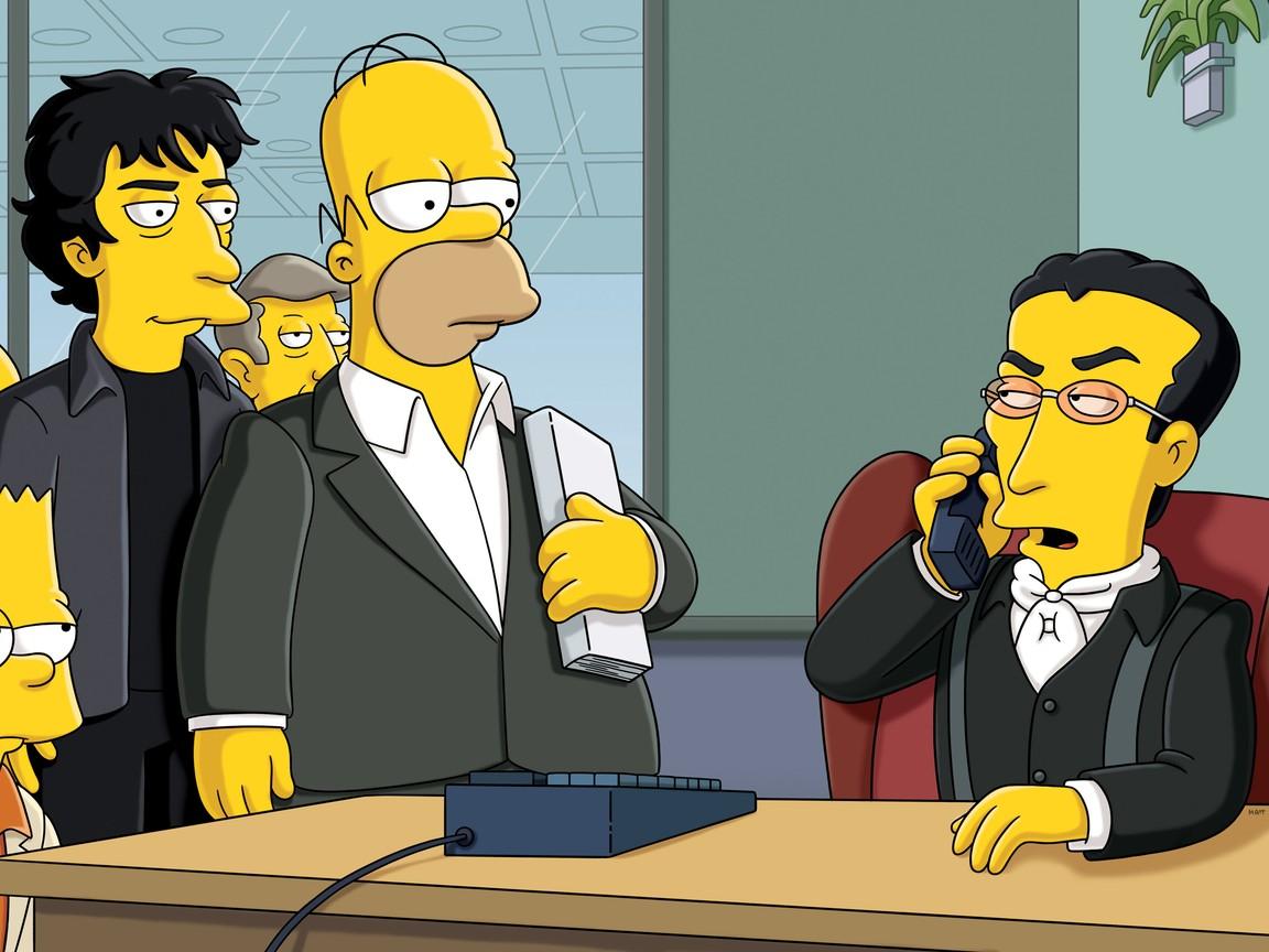 The Simpsons - Season 23 Episode 6: The Book Job
