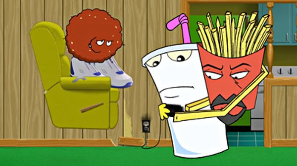 Aqua Teen Hunger Force - Season 7 Episode 11: Larry Miller Hair System