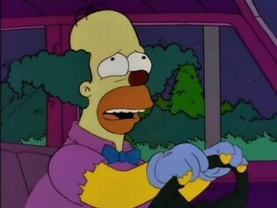 The Simpsons - Season 6 Episode 15: Homie the Clown