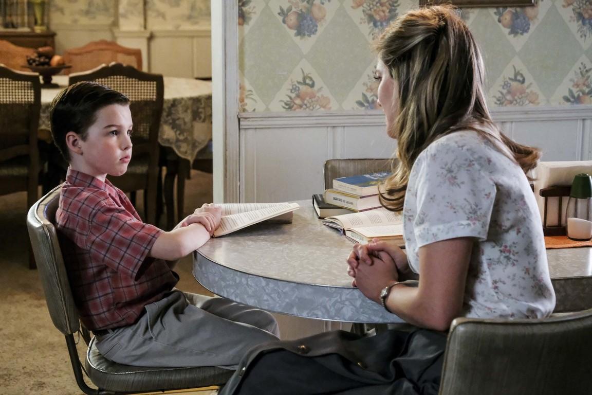 Young Sheldon - Season 1 Episode 11: Demons, Sunday School, and Prime Numbers