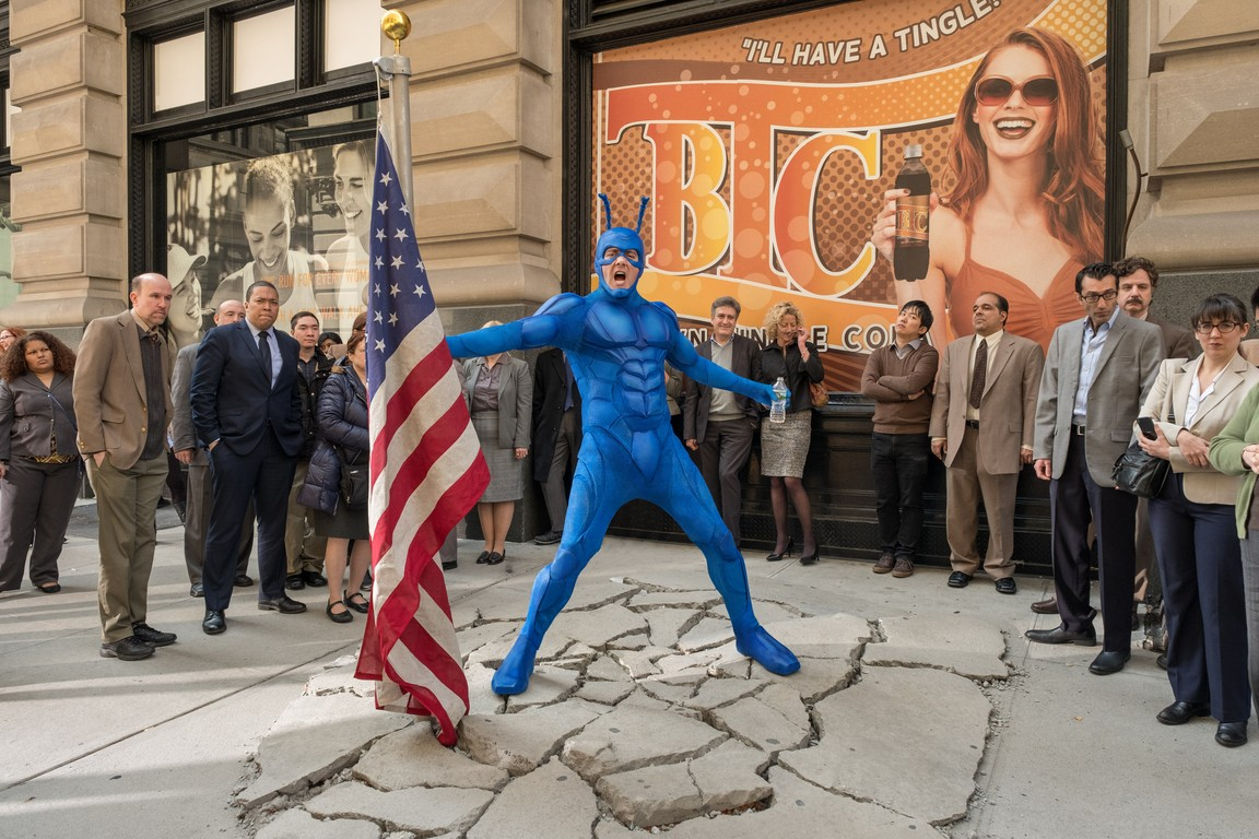 The Tick - Season 1 Episode 03: Secret Identity