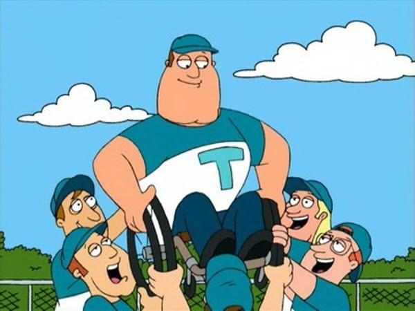 Family Guy - Season 1 Episode 5: A Hero Sits Next Door