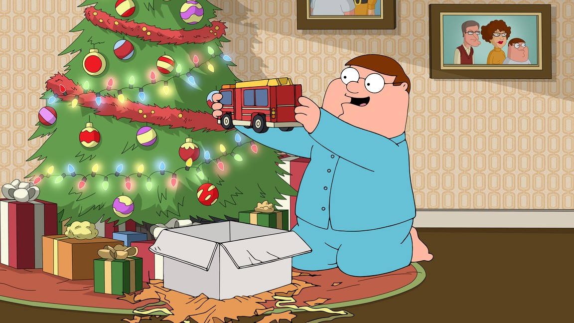 Family Guy - Season 16 Episode 09: Don't Be a Dickens at Christmas