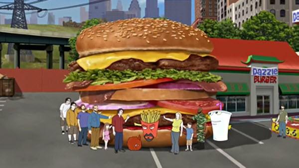 Aqua Teen Hunger Force - Season 7 Episode 06: Hands On a Hamburger