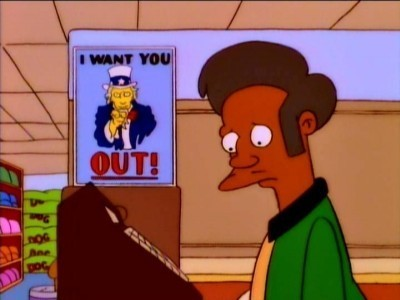 The Simpsons - Season 7 Episode 23: Much Apu About Nothing