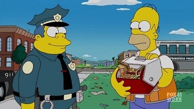 The Simpsons - Season 21 Episode 18: Chief of Hearts