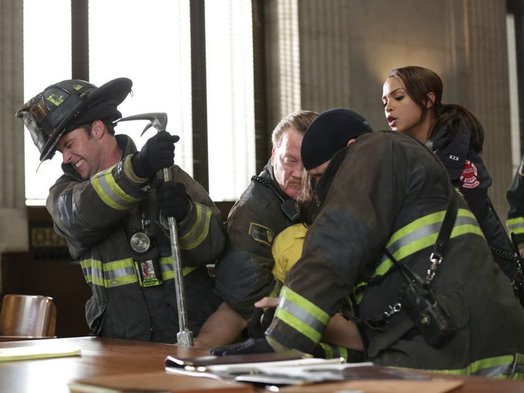 Chicago Fire - Season 2 Episode 15: Keep Your Mouth Shut