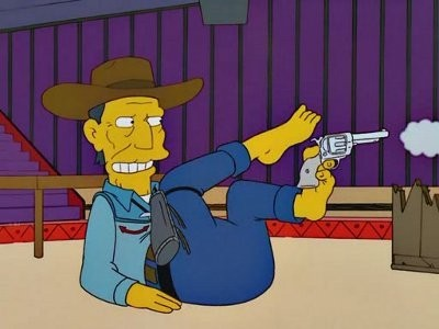 The Simpsons - Season 13 Episode 12: The Lastest Gun in the West
