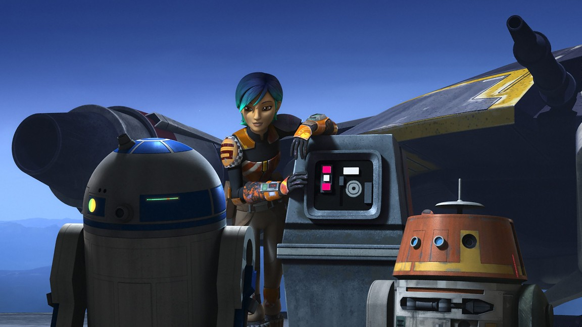 Star Wars Rebels - Season 2 Episode 08: The Future of the Force