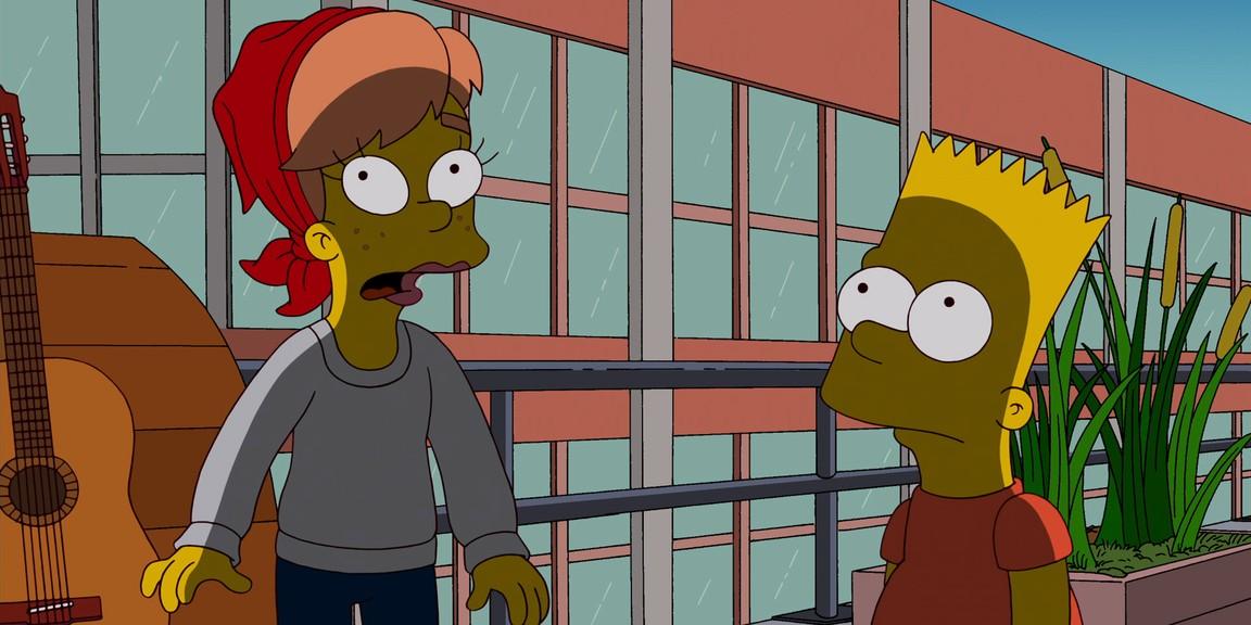 The Simpsons - Season 24 Episode 1: Moonshine River