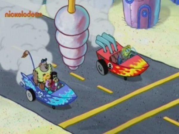 SpongeBob SquarePants - Season 8 Episode 05: The Hot Shot