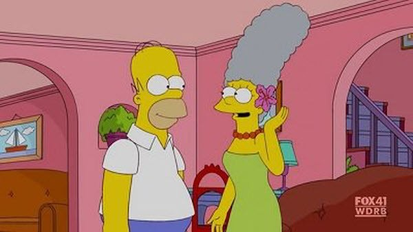 The Simpsons - Season 22 Episode 13: The Blue and the Gray