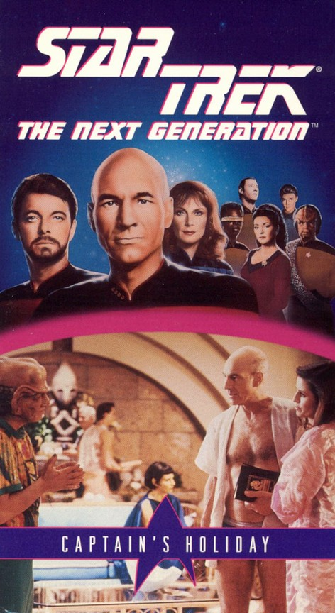 Star Trek: The Next Generation - Season 3 Episode 19: Captain's Holiday