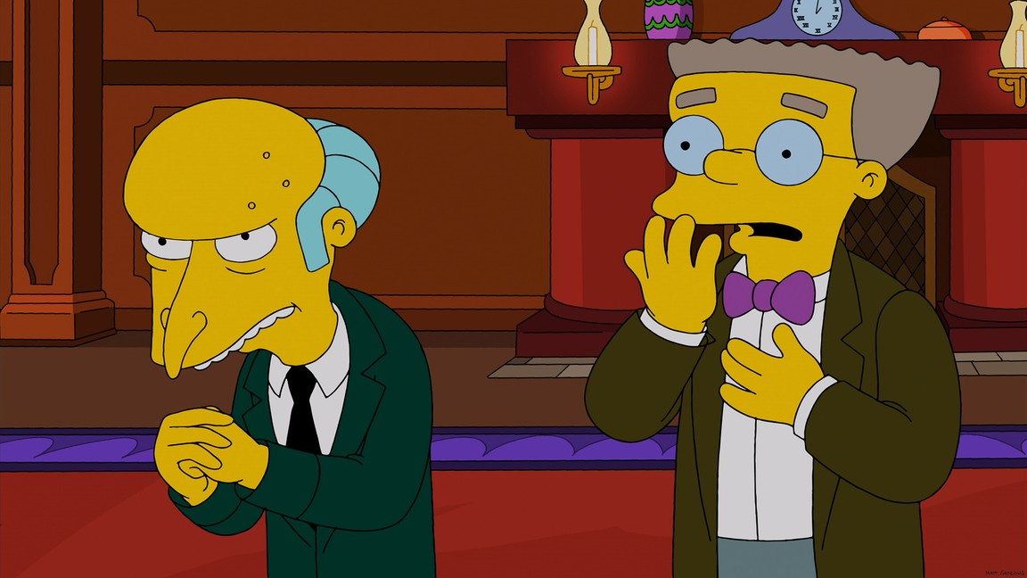 The Simpsons - Season 25 Episode 11: Specs and the City