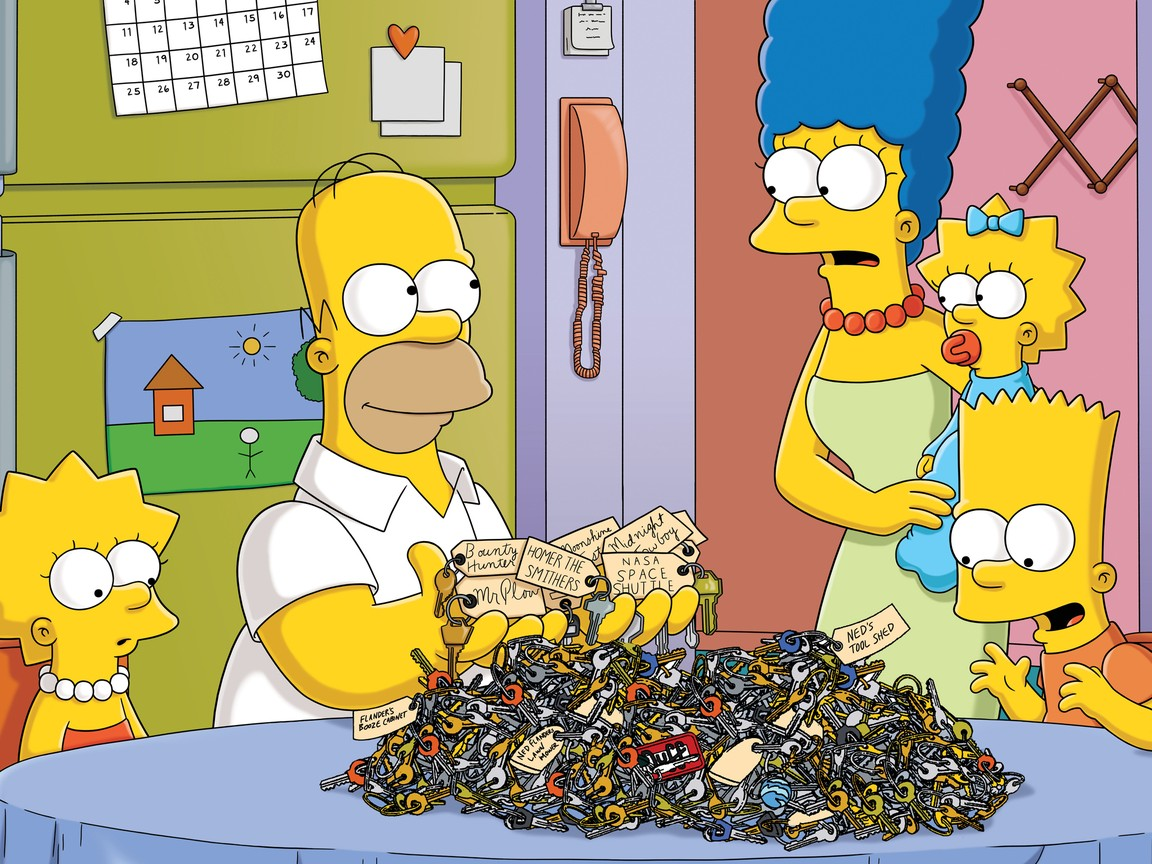The Simpsons - Season 22 Episode 21: 500 Keys