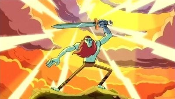 Adventure Time - Season 1 Episode 13: Finn Meets His Hero - The Gut Grinder