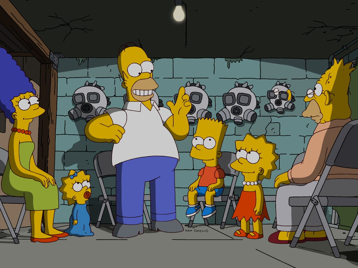 The Simpsons - Season 23 Episode 14: At Long Last Leave