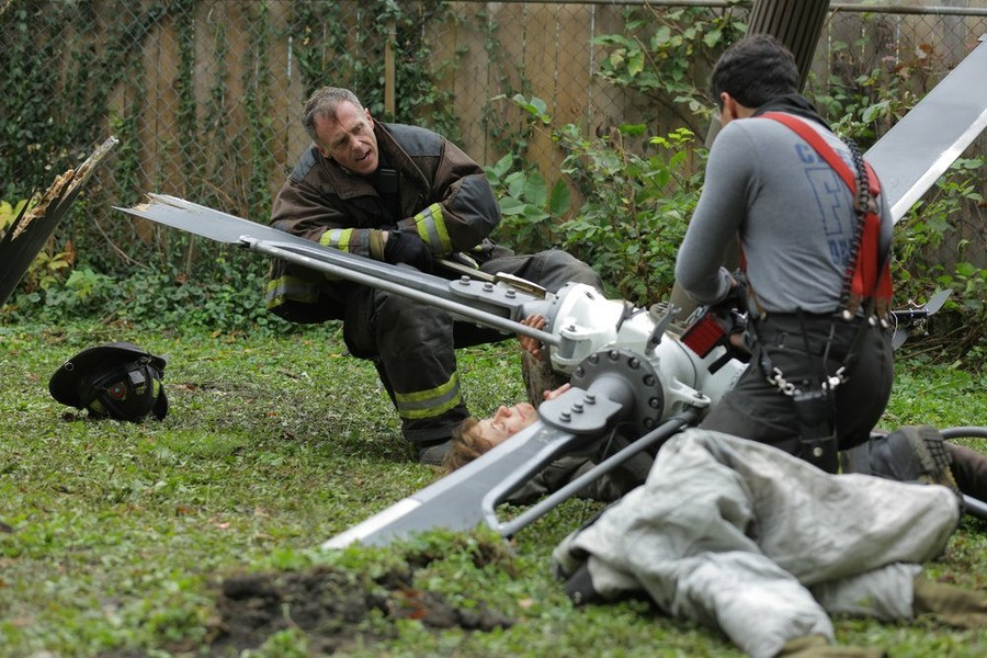 Chicago Fire - Season 3 Episode 08: Chopper