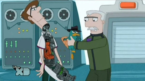 Phineas and Ferb - Season 2 Episode 23: I Was a Middle Aged Robot - Suddenly Suzy