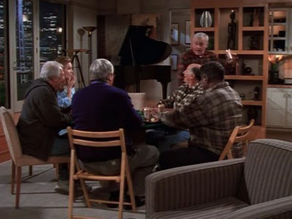 Frasier - Season 5 Episode 10: Where Every Bloke Knows Your Name