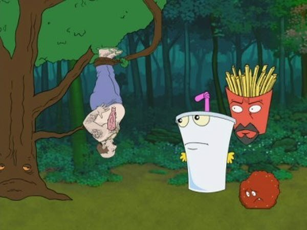 Aqua Teen Hunger Force - Season 2 Episode 13: Revenge Of The Trees