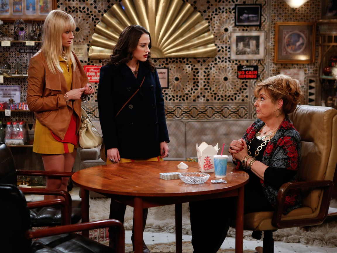 2 Broke Girls - Season 2 Episode 15: And the Psychic Shakedown