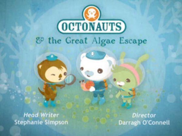 The Octonauts - Season 1 Episode 08: The Great Algae Escape