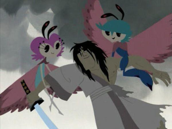 Samurai Jack - Season 4 Episode 08: Jack and the Flying Prince and Princess