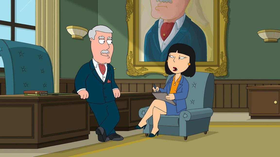 Family Guy - Season 15 Episode 08: Carter and Tricia