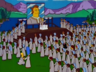 The Simpsons - Season 9 Episode 13: The Joy of Sect