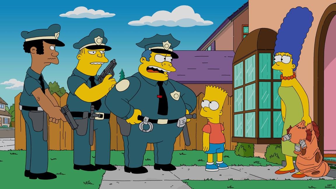 The Simpsons - Season 27 Episode 22: Orange is the New Yellow