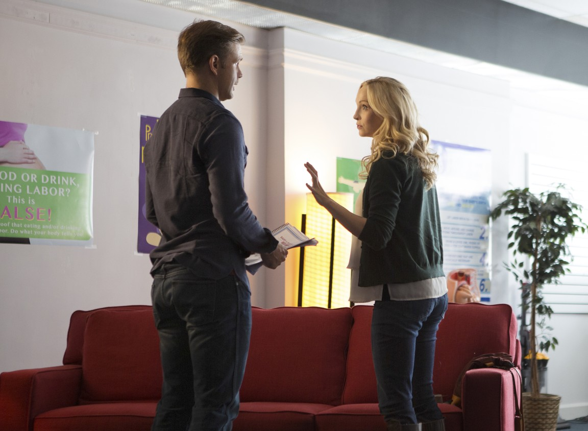The Vampire Diaries - Season 7 Episode 09: Cold as Ice