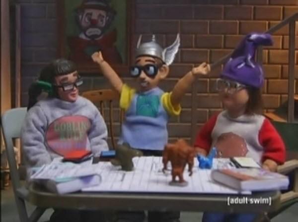 Robot Chicken- Season 4 Episode 14: President Hu Forbids It
