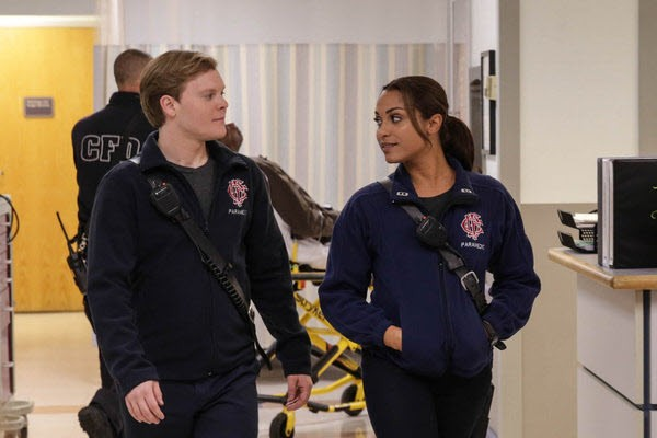 Chicago Fire - Season 2 Episode 08: Rhymes With Shout