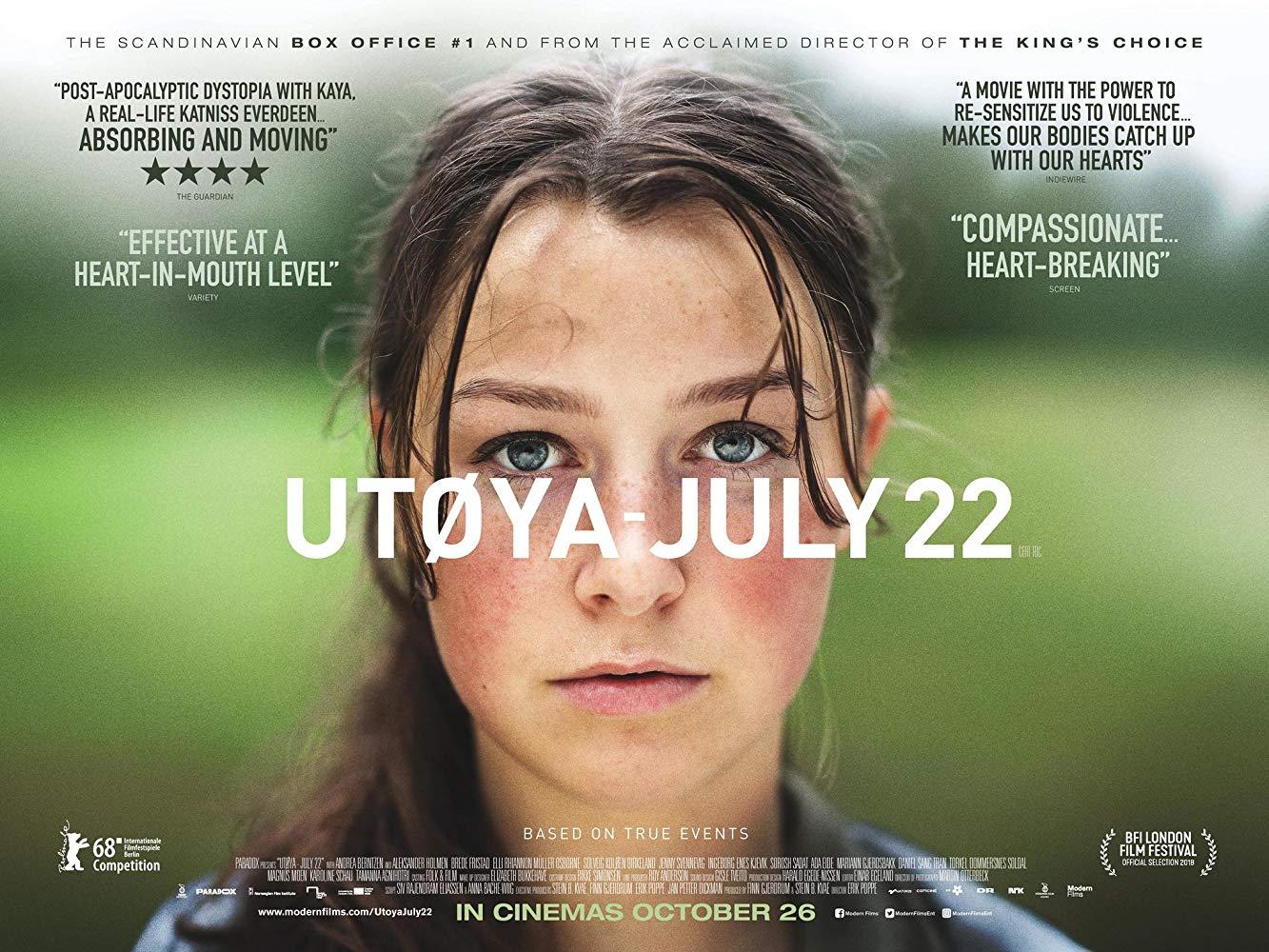 Utøya: July 22 (Utøya 22. juli) [Sub: Eng]