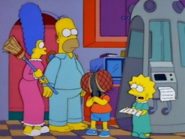 The Simpsons - Season 9 Episode 04: Treehouse of Horror VIII