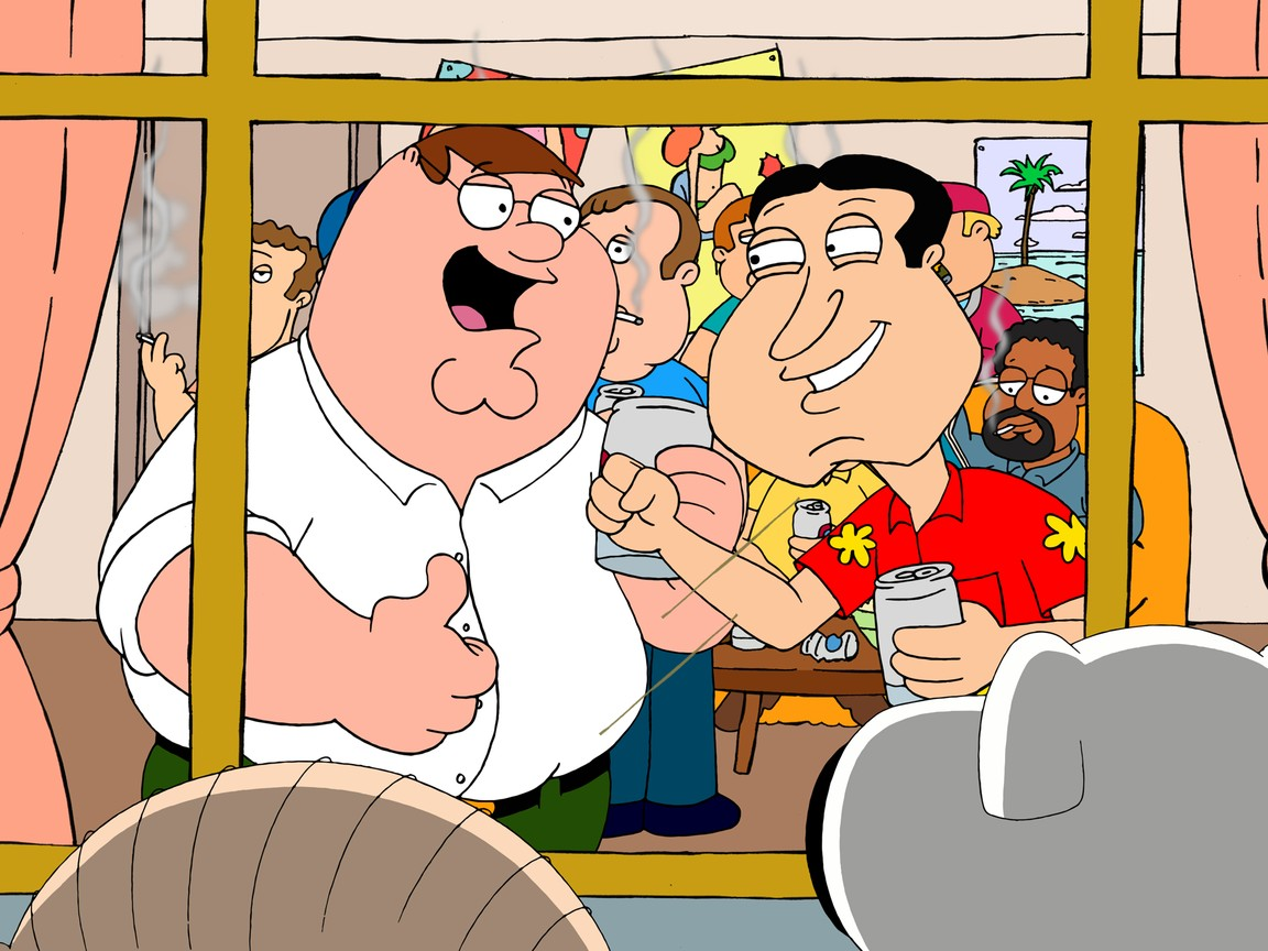 Family Guy - Season 10 Episode 5: Back to the Pilot